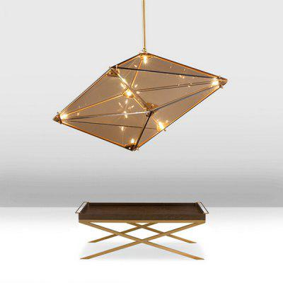 Postmodern Luxury Diamond Glass Chandelier Light 220V