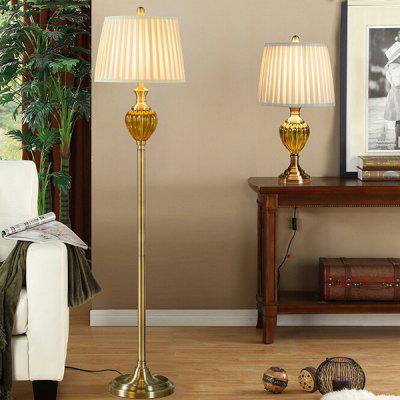 Retro Luxury Cozy Table Light 220VTable Lamps<br>Retro Luxury Cozy Table Light 220V<br><br>Available Color: Yellow<br>Bulb Base Type: E27<br>Material: Fabric, Metal<br>Package Contents: 1 x Table Light, 1 x Assembly Parts<br>Package size (L x W x H): 42.00 x 42.00 x 60.00 cm / 16.54 x 16.54 x 23.62 inches<br>Package weight: 4.0400 kg<br>Product size (L x W x H): 32.00 x 32.00 x 56.50 cm / 12.6 x 12.6 x 22.24 inches<br>Product weight: 3.6000 kg<br>Suitable for: Home Decoration