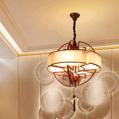 E27 4 Branches Archaistic Chinese Style Pendant Light 220VPendant Light<br>E27 4 Branches Archaistic Chinese Style Pendant Light 220V<br><br>Battery Included: No<br>Bulb Base: E27<br>Bulb Included: No<br>Chain / Cord Length ( CM ): 150<br>Features: Designers<br>Fixture Height ( CM ): 60<br>Fixture Length ( CM ): 60<br>Fixture Width ( CM ): 60<br>Light Direction: Ambient Light<br>Number of Bulb: 4 Bulbs<br>Package Contents: 1 x Pendant Light, 1 x Installation Component Kit<br>Package size (L x W x H): 70.00 x 70.00 x 70.00 cm / 27.56 x 27.56 x 27.56 inches<br>Package weight: 7.0500 kg<br>Product weight: 6.0000 kg<br>Shade Material: Cloth, Iron<br>Style: Modern/Contemporary<br>Suggested Room Size: 10 - 15?<br>Suggested Space Fit: Indoors<br>Type: Pendant Light<br>Voltage ( V ): AC220