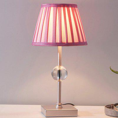 European Style Simple Pink Fashion Table Lamp 220V