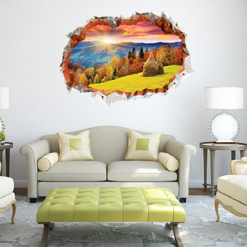 3D Family Landscape Pattern Classic Wall Sticker