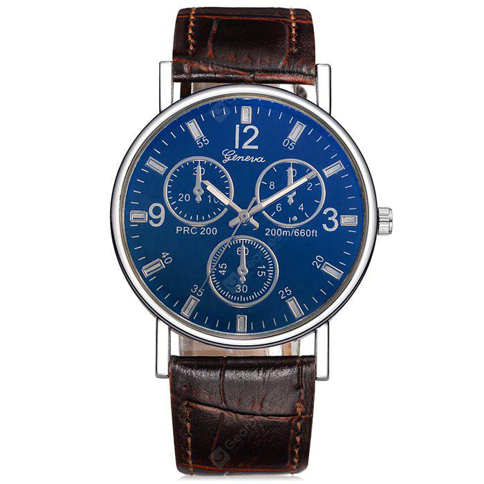 quartz classic on roman band ray mens product yazole leather glass dial luminous sale automatic luxury blue watches fashion brand