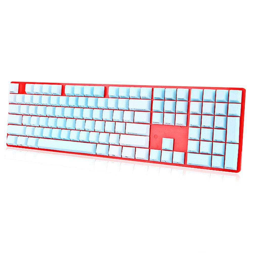 Keycap Set Side Printed PBT Cherry Height 108 in 1