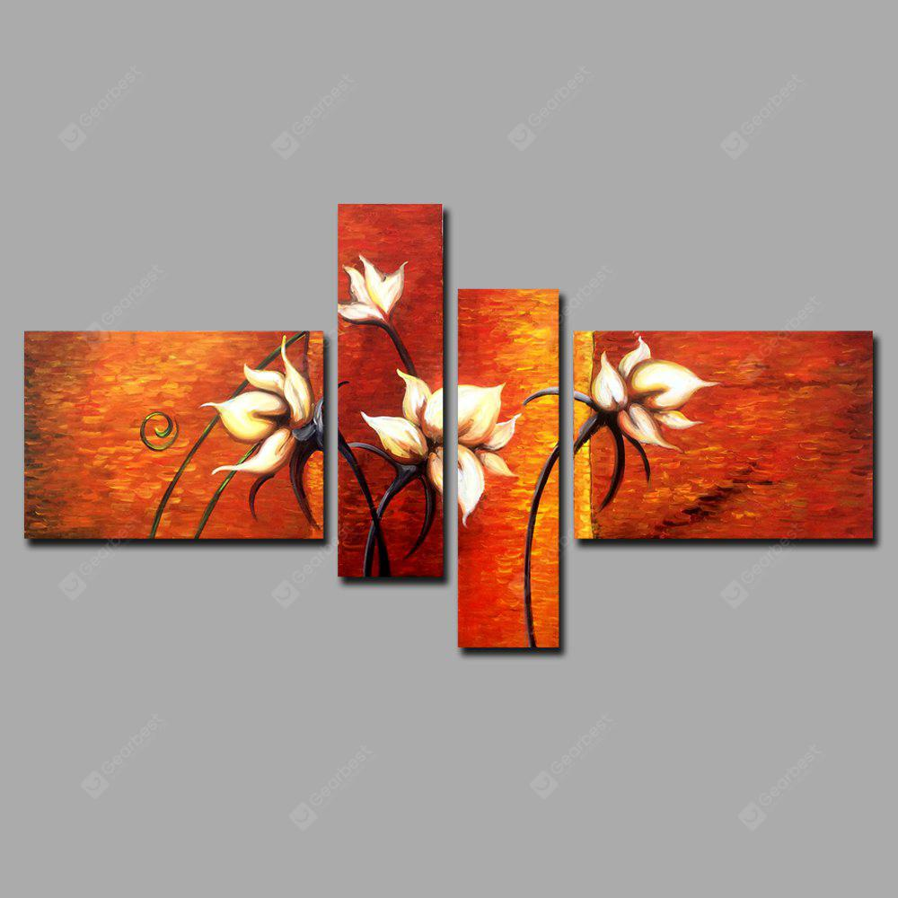 YHHP Abstract Style Flower Oil Painting