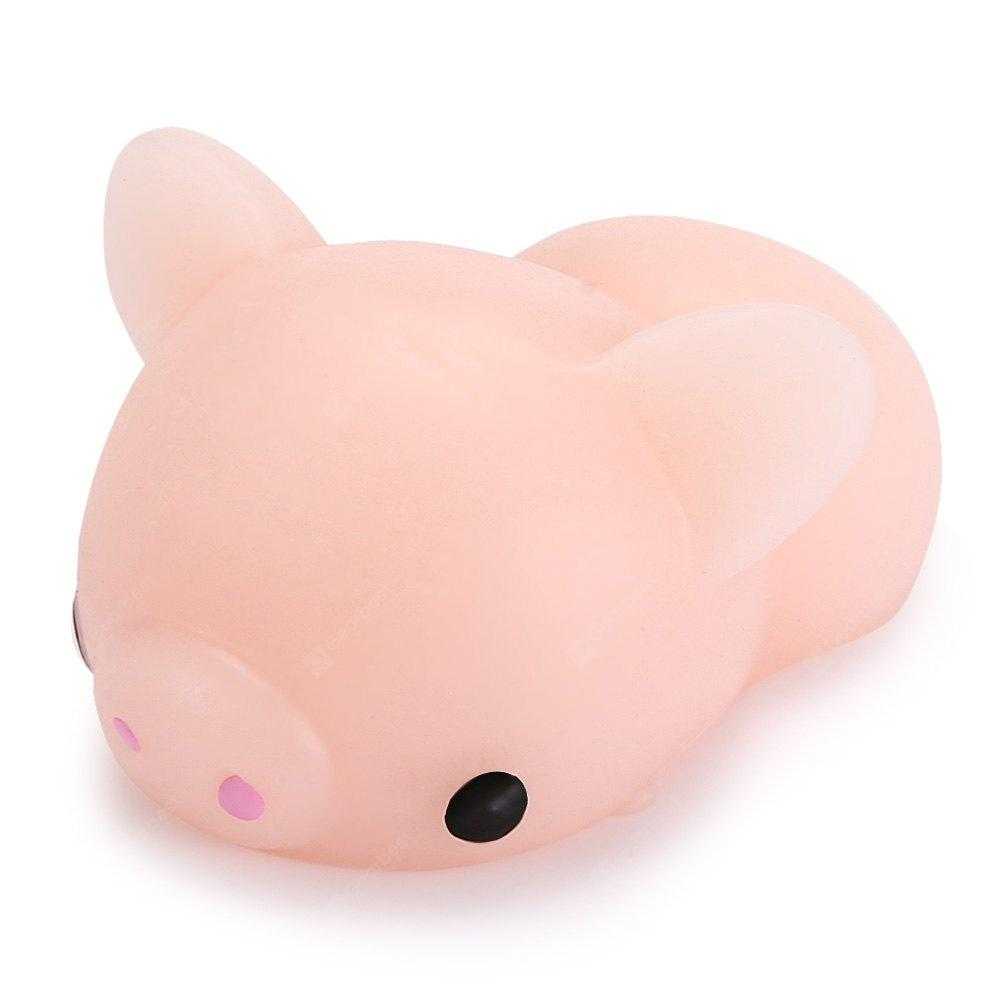 Cute Mini Cartoon Pig TPR Animal Jumbo Squishy Toy