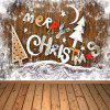 Nanomaterial Christmas Photography Background Cloth - DEEP BROWN