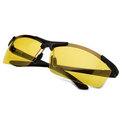 8530 Night Vision Polarized Lens Driving Cycling GlassesCycling Sunglasses<br>8530 Night Vision Polarized Lens Driving Cycling Glasses<br><br>Features: Anti-UV, Night Vision, Polarized lens, UV400<br>Gender: Men<br>Lens material: Resin<br>Package Contents: 1 X Glasses, 1 x Box<br>Package Size(L x W x H): 17.00 x 8.00 x 9.00 cm / 6.69 x 3.15 x 3.54 inches<br>Package weight: 0.1430 kg<br>Product Size(L x W x H): 13.70 x 4.00 x 5.50 cm / 5.39 x 1.57 x 2.17 inches<br>Product weight: 0.0250 kg<br>Suitable for: Mountaineering, Camping, Cycling, Hiking, Traveling<br>Type: Goggle