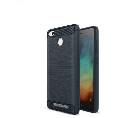 Buy CADETBLUE Luanke Brushed Finish Back Case for Xiaomi Redmi 3 / 3S for $4.32 in GearBest store