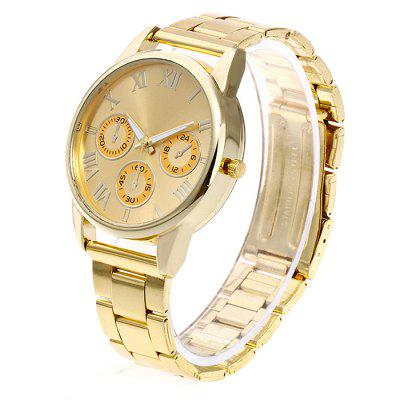 Unisex Elegant Fashionable Style Steel Band Wrist WatchUnisex Watches<br>Unisex Elegant Fashionable Style Steel Band Wrist Watch<br><br>Band material: Steel<br>Band size: 24.5 x 2cm<br>Case material: Steel<br>Clasp type: Butterfly clasp<br>Dial size: 3.5 x 3.5 x 1cm<br>Display type: Analog<br>Movement type: Quartz watch<br>Package Contents: 1 x Watch, 1 x Box<br>Package size (L x W x H): 8.00 x 8.50 x 5.50 cm / 3.15 x 3.35 x 2.17 inches<br>Package weight: 0.1000 kg<br>People: Unisex table<br>Product size (L x W x H): 24.50 x 3.50 x 1.00 cm / 9.65 x 1.38 x 0.39 inches<br>Product weight: 0.0500 kg<br>Shape of the dial: Round<br>Watch mirror: Acrylic<br>Watch style: Fashion