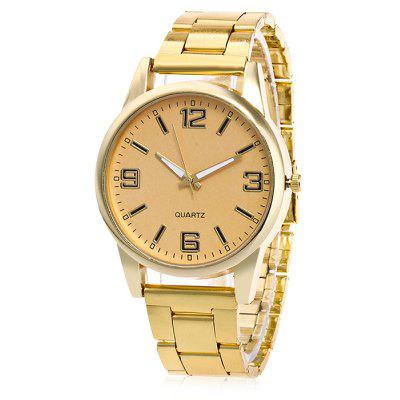 Unisex Simple Fashionable Steel Band Wrist Watch