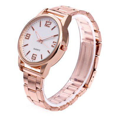 Unisex Simple Fashionable Steel Band Wrist WatchUnisex Watches<br>Unisex Simple Fashionable Steel Band Wrist Watch<br><br>Band material: Steel<br>Band size: 24.5 x 2cm<br>Case material: Steel<br>Clasp type: Butterfly clasp<br>Dial size: 3.5 x 3.5 x 1cm<br>Display type: Analog<br>Movement type: Quartz watch<br>Package Contents: 1 x Watch, 1 x Box<br>Package size (L x W x H): 8.00 x 7.50 x 5.50 cm / 3.15 x 2.95 x 2.17 inches<br>Package weight: 0.1000 kg<br>People: Unisex table<br>Product size (L x W x H): 24.50 x 3.50 x 1.00 cm / 9.65 x 1.38 x 0.39 inches<br>Product weight: 0.0500 kg<br>Shape of the dial: Round<br>Watch mirror: Acrylic<br>Watch style: Fashion
