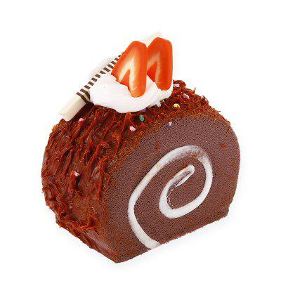 Mini Swiss Roll Chocolate Cake PU Foam Squishy ToySquishy toys<br>Mini Swiss Roll Chocolate Cake PU Foam Squishy Toy<br><br>Color: Brown<br>Materials: PU<br>Package Content: 1 x Squishy Toy<br>Package Dimension: 6.00 x 5.00 x 6.00 cm / 2.36 x 1.97 x 2.36 inches<br>Package Weights: 40g<br>Pattern Type: Cake<br>Product Dimension: 4.50 x 3.00 x 5.20 cm / 1.77 x 1.18 x 2.05 inches<br>Product Weights: 20g<br>Products Type: Squishy Toy<br>Use: Home Decoration, Art &amp; Collectible