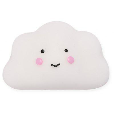 Cute Mini Cartoon Shy Cloud TPR Squishy Toy