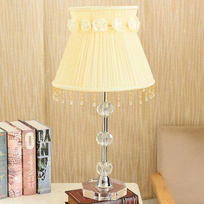 Simple Style Eye Protection Crystal Table Lamp 220V