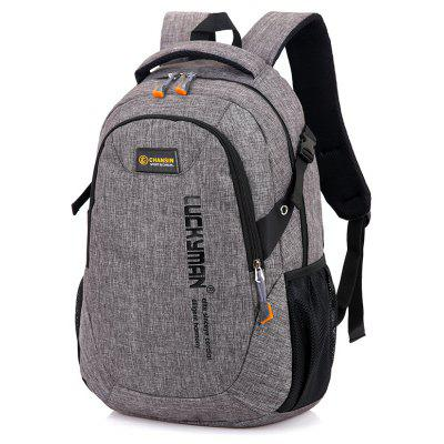 Buy LIGHT GREY Leisure Durable Laptop Computer Men Backpack for $21.20 in GearBest store