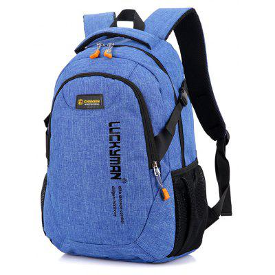 Buy BLUE Leisure Durable Laptop Computer Men Backpack for $21.20 in GearBest store