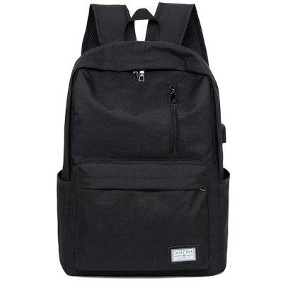 Leisure Business Computer Men BackpackBackpacks<br>Leisure Business Computer Men Backpack<br><br>Closure Type: Zip<br>Features: Wearable<br>Gender: Men<br>Material: Polyester<br>Package Size(L x W x H): 47.00 x 33.00 x 15.00 cm / 18.5 x 12.99 x 5.91 inches<br>Package weight: 0.6200 kg<br>Packing List: 1 x Backpack<br>Product weight: 0.5700 kg<br>Style: Casual, Business<br>Type: Backpacks