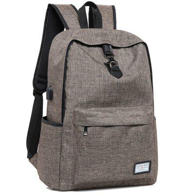 Leisure Business Laptop Backpack for MenBackpacks<br>Leisure Business Laptop Backpack for Men<br><br>Features: Wearable<br>Gender: Men<br>Package Size(L x W x H): 32.00 x 47.00 x 15.00 cm / 12.6 x 18.5 x 5.91 inches<br>Package weight: 0.5800 kg<br>Packing List: 1 x Backpack<br>Product weight: 0.5400 kg<br>Style: Business, Fashion<br>Type: Backpacks