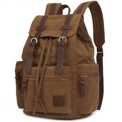 Leisure Durable Canvas Men Backpack