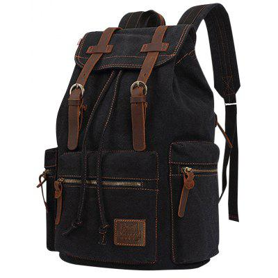 Leisure Durable Canvas Backpack for Men