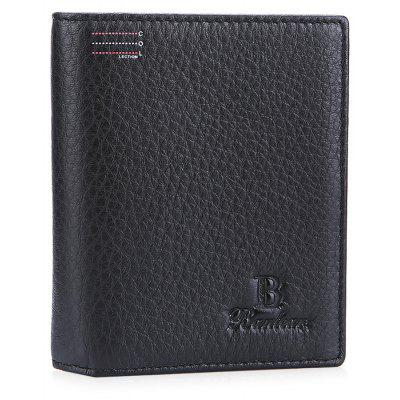 Buy BLACK Banlear Horizontal Bifold Men Wallet for $10.79 in GearBest store