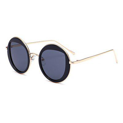 Round Lenses Unisex Sunglasses