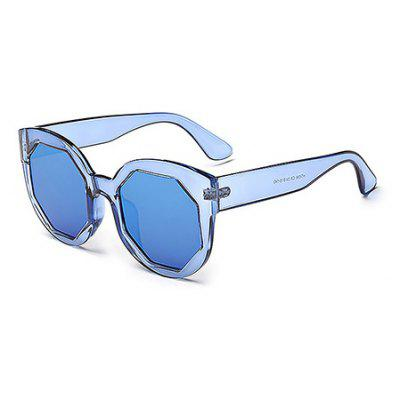 Buy BLUE Candy Color Unisex Sunglasses for $8.06 in GearBest store