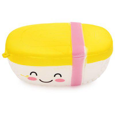 Buy COLORMIX Realistic Egg Sushi Soft PU Foam Squishy Toy for $4.42 in GearBest store