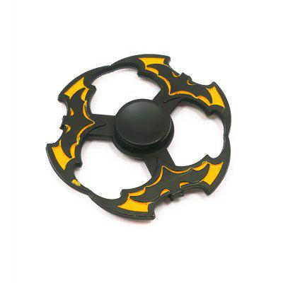 Flying Disc Style Bat Zinc Alloy Fidget Spinner
