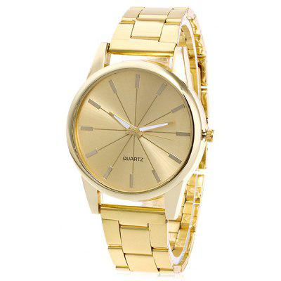 Women Precise Scale Dial Quartz Watch
