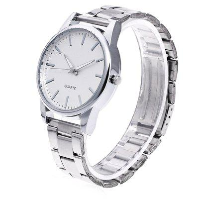 Unisex Fashionable Steel Band Analog Wrist WatchUnisex Watches<br>Unisex Fashionable Steel Band Analog Wrist Watch<br><br>Band material: Steel<br>Band size: 24.5 x 2cm<br>Case material: Steel<br>Clasp type: Butterfly clasp<br>Dial size: 3.5 x 3.5 x 1cm<br>Display type: Analog<br>Movement type: Quartz watch<br>Package Contents: 1 x Watch, 1 x Box<br>Package size (L x W x H): 8.00 x 7.50 x 5.50 cm / 3.15 x 2.95 x 2.17 inches<br>Package weight: 0.1000 kg<br>People: Unisex table<br>Product size (L x W x H): 24.50 x 3.50 x 1.00 cm / 9.65 x 1.38 x 0.39 inches<br>Product weight: 0.0500 kg<br>Shape of the dial: Round<br>Watch mirror: Acrylic<br>Watch style: Fashion
