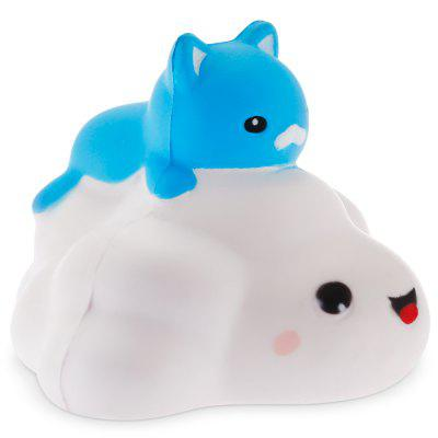 Cute Cartoon Cloud Cat PU Foam Squishy Toy 1pcSquishy toys<br>Cute Cartoon Cloud Cat PU Foam Squishy Toy 1pc<br><br>Materials: PU<br>Package Content: 1 x Squishy Toy<br>Package Dimension: 9.00 x 12.00 x 11.00 cm / 3.54 x 4.72 x 4.33 inches<br>Package Weights: 70g<br>Pattern Type: Animal<br>Product Dimension: 7.20 x 10.50 x 9.00 cm / 2.83 x 4.13 x 3.54 inches<br>Product Weights: 45g<br>Products Type: Squishy Toy<br>Use: Home Decoration, Art &amp; Collectible