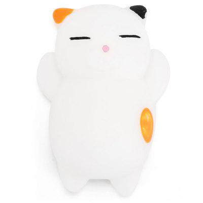 Cute Cartoon Lazy Sleeping Cat TPR Squishy Toy james montier the little book of behavioral investing