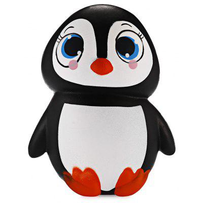Cute Female Penguin Soft PU Foam Jumbo Squishy Toy