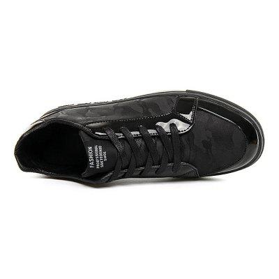 Male Slip Resistance Stitching Lace Up Patent Leather ShoesMen's Sneakers<br>Male Slip Resistance Stitching Lace Up Patent Leather Shoes<br><br>Closure Type: Lace-Up<br>Contents: 1 x Pair of Shoes<br>Function: Slip Resistant<br>Materials: Rubber, Patent Leather<br>Occasion: Shopping, Holiday, Daily, Casual<br>Outsole Material: Rubber<br>Package Size ( L x W x H ): 33.00 x 24.00 x 13.00 cm / 12.99 x 9.45 x 5.12 inches<br>Package Weights: 0.82kg<br>Seasons: Autumn,Spring<br>Style: Modern, Leisure, Fashion, Casual<br>Toe Shape: Round Toe<br>Type: Casual Leather Shoes<br>Upper Material: Patent Leather