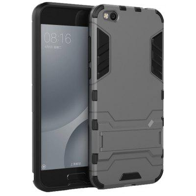 Luanke 2 in 1 Bracket Phone Back Cover for Xiaomi Mi 5C