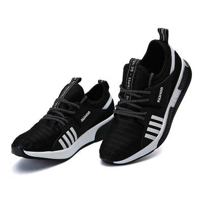 Male Lace Up Mesh Split Joint Sports Running SneakersAthletic Shoes<br>Male Lace Up Mesh Split Joint Sports Running Sneakers<br><br>Closure Type: Lace-Up<br>Contents: 1 x Pair of Shoes<br>Decoration: Split Joint,Stripe<br>Materials: Mesh, PU, Fabric<br>Occasion: Sports, Outdoor Clothing, Daily, Casual, Running<br>Outsole Material: PU<br>Package Size ( L x W x H ): 30.00 x 18.00 x 12.00 cm / 11.81 x 7.09 x 4.72 inches<br>Package Weights: 0.93kg<br>Pattern Type: Stripe<br>Seasons: Autumn,Spring<br>Style: Leisure, Fashion, Comfortable, Casual<br>Toe Shape: Round Toe<br>Type: Sports Shoes<br>Upper Material: Cotton Fabric,Mesh