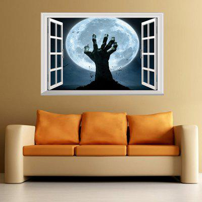 3D Creative Zombie Hand Wall StickerWall Stickers<br>3D Creative Zombie Hand Wall Sticker<br><br>Functions: Decorative Wall Stickers<br>Hang In/Stick On: Bathroom,Bedrooms,Living Rooms<br>Package Contents: 1 x Wall Sticker<br>Package size (L x W x H): 48.50 x 4.00 x 4.00 cm / 19.09 x 1.57 x 1.57 inches<br>Package weight: 0.1900 kg<br>Product weight: 0.1100 kg