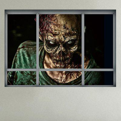 3D Creative Zombie Wall Sticker