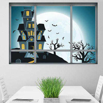 3D Creative Hallowmas Night Wall StickerWall Stickers<br>3D Creative Hallowmas Night Wall Sticker<br><br>Hang In/Stick On: Bathroom,Bedrooms,Living Rooms<br>Package Contents: 1 x Wall Sticker<br>Package size (L x W x H): 48.50 x 4.00 x 4.00 cm / 19.09 x 1.57 x 1.57 inches<br>Package weight: 0.1900 kg<br>Product weight: 0.1100 kg