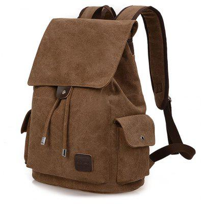 Buy COFFEE Fashion Canvas Computer Backpack for $29.73 in GearBest store