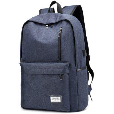 Buy BLUE Leisure Durable Computer Backpack for $16.67 in GearBest store