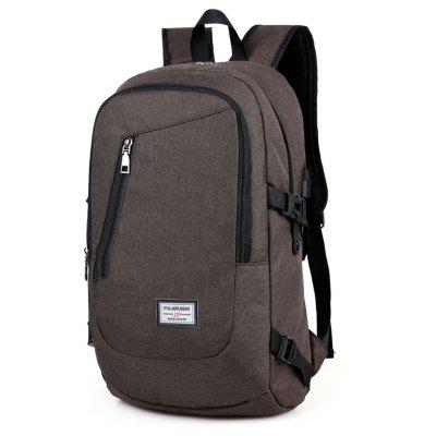 Leisure Laptop Computer Men Backpack with USB Port