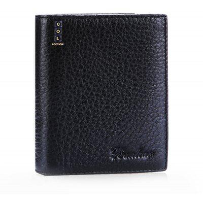 Buy BLACK Banlear Classical Bifold Open Men Wallet for $10.92 in GearBest store