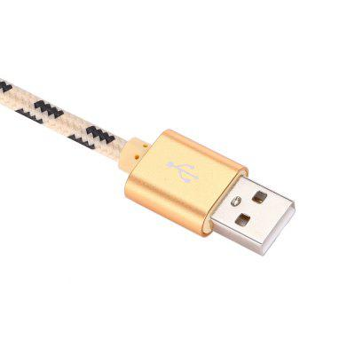 2m Nylon Braided Type-C USB Data Sync Charging CableChargers &amp; Cables<br>2m Nylon Braided Type-C USB Data Sync Charging Cable<br><br>Cable Length (cm): 200cm<br>Interface Type: USB 2.0, USB Type-C<br>Material ( Cable&amp;Adapter): Aluminum Alloy, Nylon<br>Package Contents: 1 x 200cm USB Cable<br>Package size (L x W x H): 15.70 x 11.50 x 2.00 cm / 6.18 x 4.53 x 0.79 inches<br>Package weight: 0.0690 kg<br>Product Size(L x W x H): 200.00 x 1.60 x 0.70 cm / 78.74 x 0.63 x 0.28 inches<br>Product weight: 0.0470 kg<br>Type: Cable