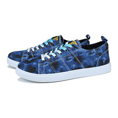 Male Lace Up Pattern Outdoor Walking Athletic ShoesCasual Shoes<br>Male Lace Up Pattern Outdoor Walking Athletic Shoes<br><br>Closure Type: Lace-Up<br>Contents: 1 x Pair of Shoes<br>Function: Slip Resistant<br>Materials: Rubber, Canvas<br>Occasion: Sports, Outdoor Clothing, Daily, Casual, Shopping<br>Outsole Material: Rubber<br>Package Size ( L x W x H ): 33.00 x 22.00 x 11.00 cm / 12.99 x 8.66 x 4.33 inches<br>Package Weights: 0.77kg<br>Pattern Type: Floral<br>Seasons: Autumn,Spring,Summer<br>Style: Modern, Leisure, Fashion, Comfortable, Casual<br>Toe Shape: Round Toe<br>Type: Casual Shoes<br>Upper Material: Canvas