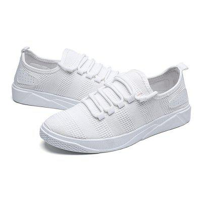 Male Breathable Lace Up Slip Resistance Sports ShoesCasual Shoes<br>Male Breathable Lace Up Slip Resistance Sports Shoes<br><br>Closure Type: Lace-Up<br>Contents: 1 x Pair of Shoes<br>Decoration: Weave<br>Function: Slip Resistant<br>Materials: Rubber, Woven Fabric<br>Occasion: Sports, Riding, Outdoor Clothing, Daily, Casual<br>Outsole Material: Rubber<br>Package Size ( L x W x H ): 33.00 x 22.00 x 11.00 cm / 12.99 x 8.66 x 4.33 inches<br>Package Weights: 0.77kg<br>Seasons: Autumn,Spring<br>Style: Modern, Leisure, Comfortable, Casual<br>Toe Shape: Round Toe<br>Type: Sports Shoes<br>Upper Material: Woven Fabric