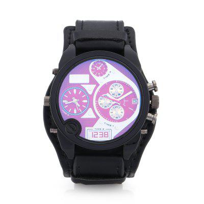 JUBAOLI 4020 Cool Quartz Men WatchMens Watches<br>JUBAOLI 4020 Cool Quartz Men Watch<br><br>Band material: Leather<br>Band size: 21 x 2.4 cm<br>Brand: Jubaoli<br>Case material: Alloy<br>Clasp type: Pin buckle<br>Dial size: 4.5 x 4.5 x 1.5 cm<br>Display type: Analog<br>Movement type: Double-movtz<br>Package Contents: 1 x Watch, 1 x Box<br>Package size (L x W x H): 33.00 x 12.50 x 6.80 cm / 12.99 x 4.92 x 2.68 inches<br>Package weight: 0.1400 kg<br>Product size (L x W x H): 25.50 x 4.50 x 1.50 cm / 10.04 x 1.77 x 0.59 inches<br>Product weight: 0.0850 kg<br>Shape of the dial: Round<br>Watch style: Casual, Fashion<br>Watches categories: Men<br>Wearable length: 19 - 23 cm