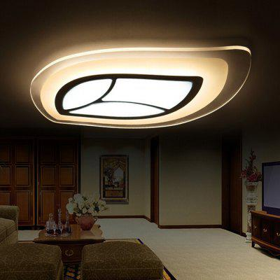 Ultra-thin Leaf-shaped Acrylic LED Ceiling Light 220V
