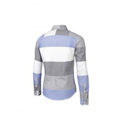 Casual Classic Simple Fashion Long Sleeve ShirtMens Shirts<br>Casual Classic Simple Fashion Long Sleeve Shirt<br><br>Material: Cotton, Polyester<br>Package Contents: 1 x Men Shirt<br>Package size: 35.00 x 25.00 x 2.00 cm / 13.78 x 9.84 x 0.79 inches<br>Package weight: 0.3000 kg<br>Product weight: 0.2500 kg